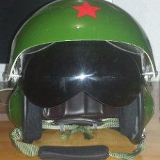 Militaria: CASCO DE PILOTO CHINO DE COMBATE TK-2A. Lote 85230952