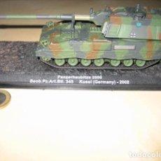 Militaria: MAQUETA TANQUE PANZER ALEMAN ART.BTL.345 KUSEL. Lote 223363715