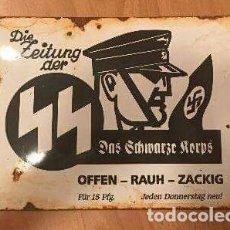 Militaria: DIVISA NAZI TERCER REICH , WAFFEN SS 1939 AÑO SUPEE RARO ORGINAL DE EPOCA. Lote 95418804