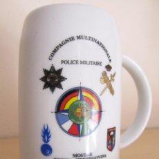 Militaria: JARRA GRANDE COMPAÑIA POLICIA MILITAR INTERNACIONAL - MOSTAR BOSNIA-HERZEGOVINA 1997 SFOR. Lote 90741000