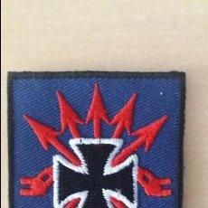 Militaria: REPLICA PARCHE FALANGISTA DIVISION AZUL. Lote 91634790