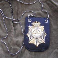 Militaria: PLACA CNI CENTRO NACIONAL DE INTELIGENCIA CON PORTAPLACA. Lote 97079019
