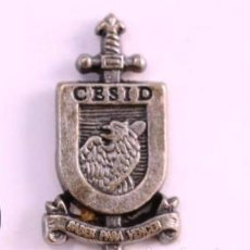 Militaria: PIN CESID CENTRO SUPERIOR DE INFORMACIÓN DE LA DEFENSA. SERVICIO SECRETO ESPAÑOL. . Lote 91738115