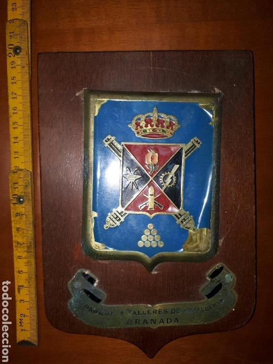 Militaria: METOPA DEL PARQUE Y TALLERES DE ARTILLERIA DE GRANADA. - Foto 2 - 93992205
