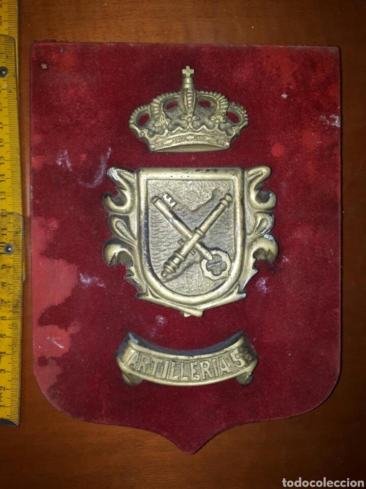 METOPA MILITAR: ARTILLERÍA. REGIMIENTO ARTILLERIA COSTA 5. ALGECIRAS. . (Militar - Reproducciones, Réplicas y Objetos Decorativos)
