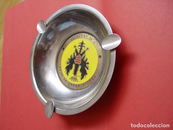 Militaria: Cenicero TERCIO LEGIÓN antiguo metálico (1960's) ¡ORIGINAL! ¡Coleccionista! - Foto 5 - 94064600