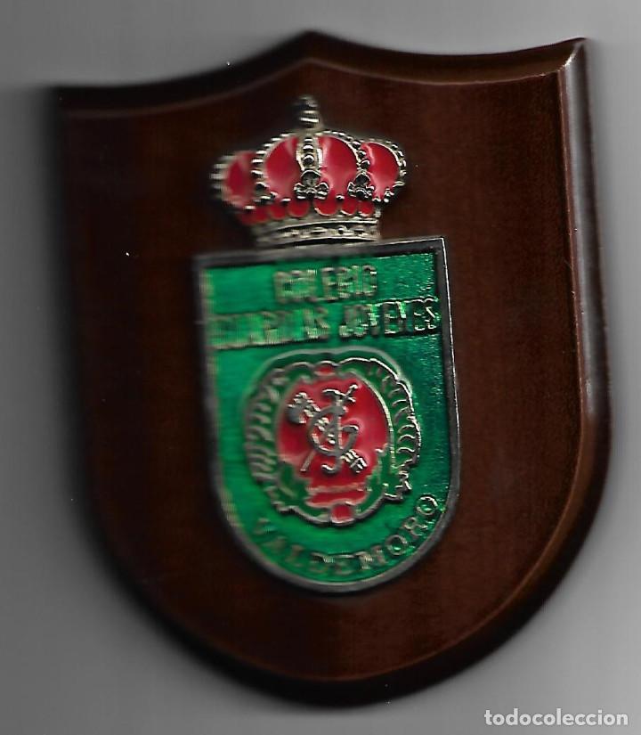 PEQUEÑA METOPA GUARDIA CIVIL DEL COLEGIO GUARDIAS JOVENES DE VALDEMORO (Militar - Reproducciones, Réplicas y Objetos Decorativos)