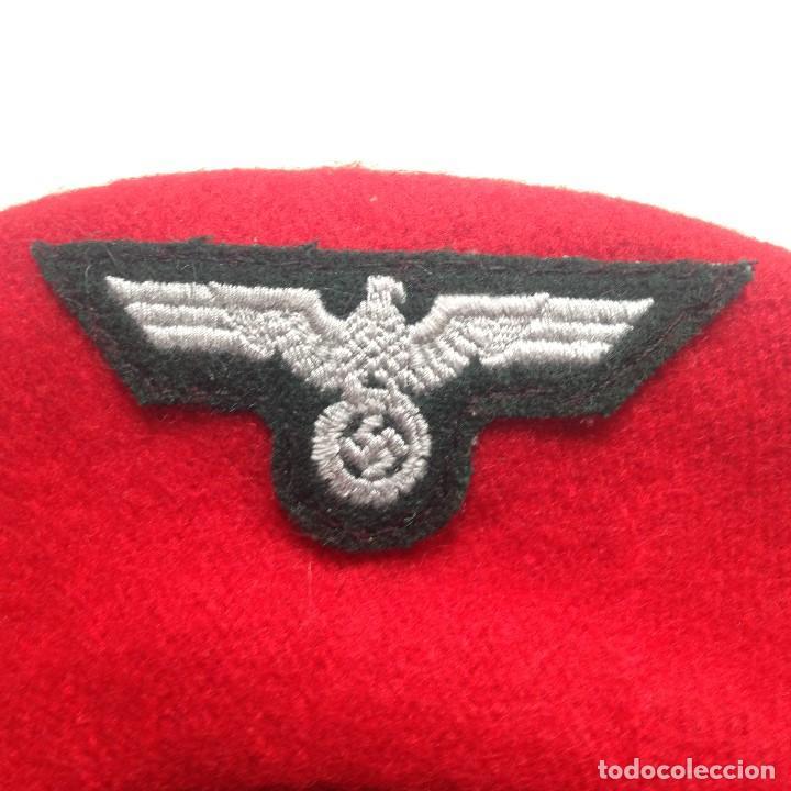 Militaria: RÉPLICA Boina División Azul. España. Whermacht Alemania. II Guerra Mundial. Frente de Rusia. 1941-43 - Foto 4 - 198477743