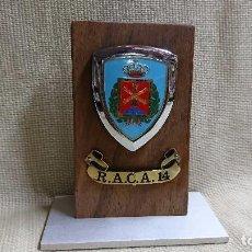 Militaria: METOPA MILITAR CON PEANA R.A.C.A 14. Lote 94908807
