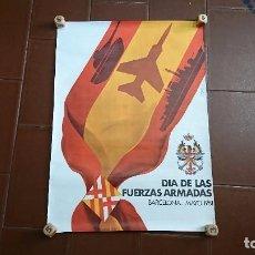 Militaria: CARTEL, PÓSTER MILITAR, BARCELONA 1981. Lote 94931131