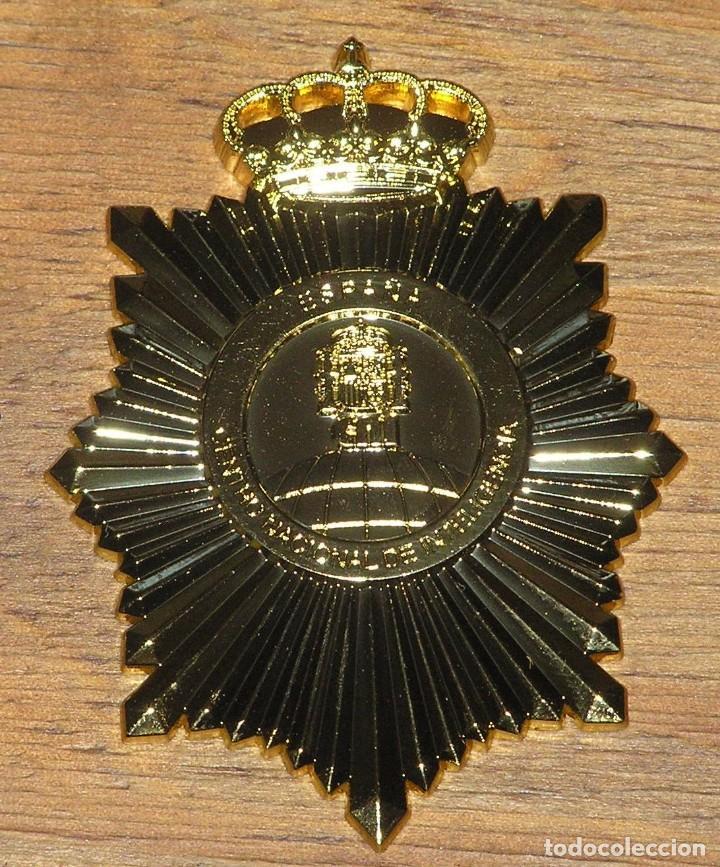 Militaria: Placa agente secreto CNI. Centro Nacional de Inteligencia, portaplacas y cinta de bandera española - Foto 2 - 139450984