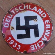 Militaria: DIVISA NAZI TERCER REICH 1933 , NSDAP EXTAMADAMENTE RARO. Lote 95695743