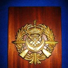 Militaria: ANTIGUA METOPA EN BRONCE DE REGULARES 'ALHUCEMAS' Nº 5 (MELILLA-SEGANGAN). Lote 96627747