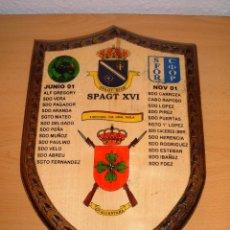 Militaria: METOPA MILITAR SPAGT XVI, BOSNIA-HERZEGOVINA 2001. Lote 102811383