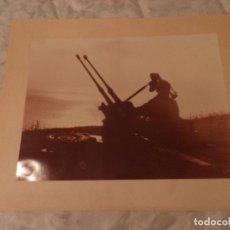 Militaria: FOTOGRAFIA MILITAR EJERCITO DE TIERRA ARTILLERIA ANTIAEREA , AÑOS 70. Lote 98042579