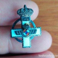 Militaria: RARA INSIGNIA AVIACION ESPAÑOLA CRUZ BLANCA. Lote 98478131