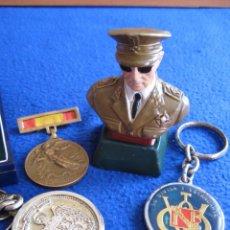 Militaria: LOTE FRANCISCO FRANCO. JEFE DEL ESTADO ESPAÑOL (1939-1975). Lote 99325623