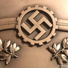 Militaria: PLACA CONMEMORATIVA REICHSAUTOBAHNEN, TERCER REICH, ADOLF HITLER, NAZI, NSDAP. Lote 100648171