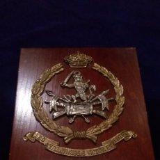 Militaria: DIVISION AZUL METOPA DEL GENERAL MANUEL VALLESPIN GONZALEZ-VALDES. Lote 102089139