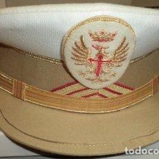 Militaria: GORRA DE PLATO DE SARGENTO PRIMERO DE TIRADORES DE IFNI VERANO. Lote 103707459