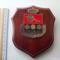 Militaria: PEQUEÑA METOPA REGIMIENTO ARTILLERÍA CAMPAÑA N 20. Lote 103854826