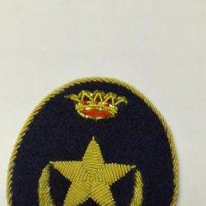Militaria: PARCHE GALLETA DE GORRA DE PLATO DE TROPAS NÓMADAS, REGULARES. Lote 218681717