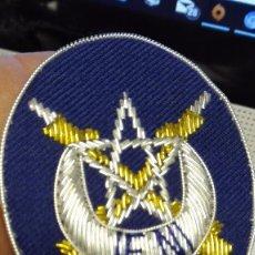 Militaria: PARCHE GALLETA DE GORRA DE PLATO DE TIRADORES DE IFNI, REGULARES. Lote 218681651