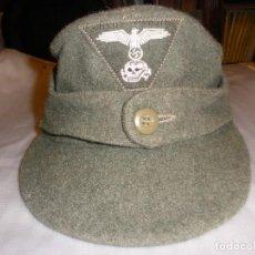 Militaria: GORRA USADA POR LA SS DURANTE LA SEGUNDA GUERRA MUNDIAL M43. Lote 108669355