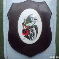 Militaria: METOPA EN PORCELANA AGRUPACION GUARDIA CIVIL DE TRAFICO BARCELONA. Lote 108750767