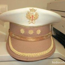 Militaria: GORRA DE PLATO DE CORONEL TIRADORES DE IFNI VERANO. Lote 108924207