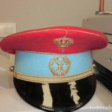 Militaria: GORRA DE PLATO DE HUSARES DE PAVIA. Lote 108926291