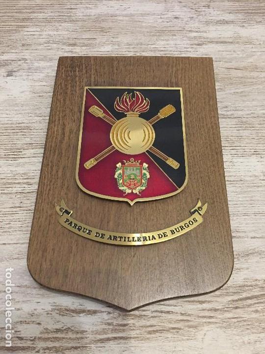 METOPA MILITAR PARQUE ARTILLERÍA DE BURGOS (Militar - Reproducciones, Réplicas y Objetos Decorativos)