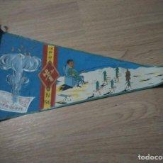 Militaria: ANTIGUO BANDERIN IX PROMOCION GUARDIA CIVIL 1961, MEDIDAS 40 CM. Lote 109995427