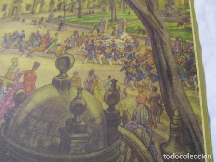 Militaria: 2 láminas Guerra Civil carlista Tierras anchas de Castilla Entre un nublado de cejas Años 50 - Foto 9 - 112658007