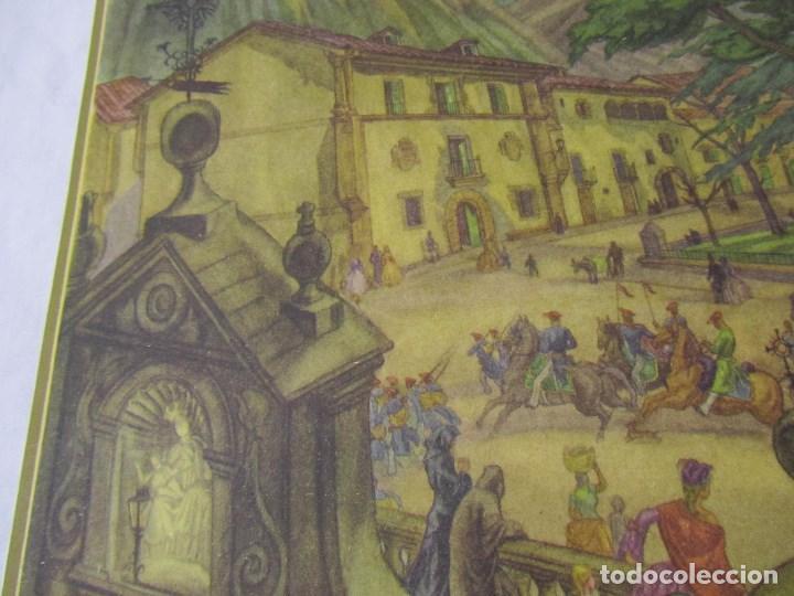 Militaria: 2 láminas Guerra Civil carlista Tierras anchas de Castilla Entre un nublado de cejas Años 50 - Foto 10 - 112658007