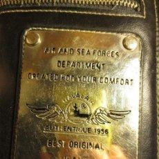 Militaria: CARTERA DE PIEL AIR AND SEA FORCES JEANS WEAR. Lote 112681807