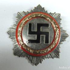 Militaria: INSIGNIA MILITAR POLÍTICA ALEMANIA NAZI ESMALTE ROJO Y NEGRO . Lote 112933495
