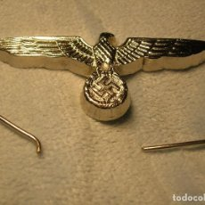 Militaria: AGUILA METALICA PLATEADA PARA GORRA HEER. WEHRMACHT.. Lote 113356355
