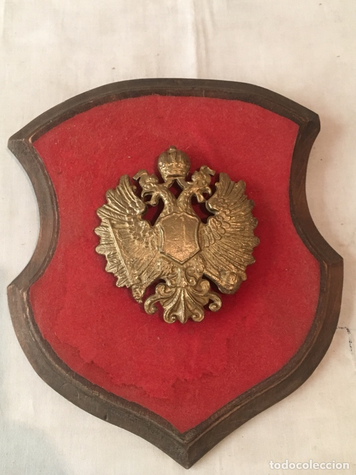 METOPA MILITAR ÁGUILA BICÉFALA MN (Militar - Reproducciones, Réplicas y Objetos Decorativos)