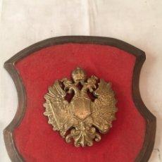Militaria: METOPA MILITAR ÁGUILA BICÉFALA. Lote 114356022