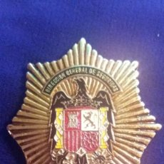 Militaria: PLACA DIRECCION GENERAL DE SEGURIDAD POLICIA-REPLICA. Lote 114842091