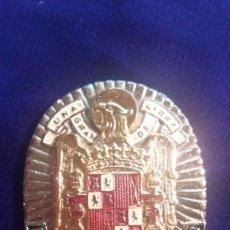 Militaria: PLACA DIRECCION GENERAL DE SEGURIDAD-REPLICA. Lote 114842159