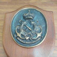 Militaria: METOPA MILITAR-MARINA-ARMADA ESPAÑOLA-ESCUEL NAVAL MILITAR.. Lote 116336104
