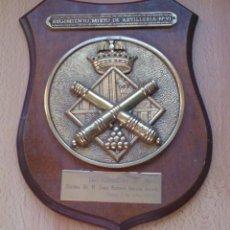 Militaria: METOPA REGIMIENTO MIXTO DE ARTILLERÍA 91. Lote 118015291