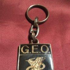 Militaria: LLAVERO POLICIA GEO. Lote 118087188