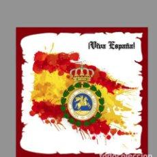 Militaria: AZULEJO 20X20 CON VENERA DE LA REAL Y MILITAR ORDEN DE SAN HERMENEGILDO. Lote 118622391