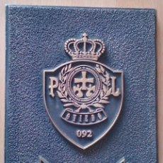 Militaria: ESCUDO PLACA DE METAL POLICÍA LOCAL OVIEDO 092. Lote 118723919