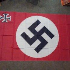 Militaria: BANDERA NAZI CRUZ DE CRISTO TERCER REICH. Lote 119162563