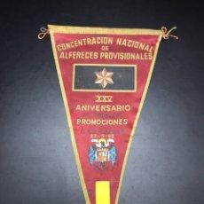 BANDERIN ALFERECES PROVISIONAL 1962