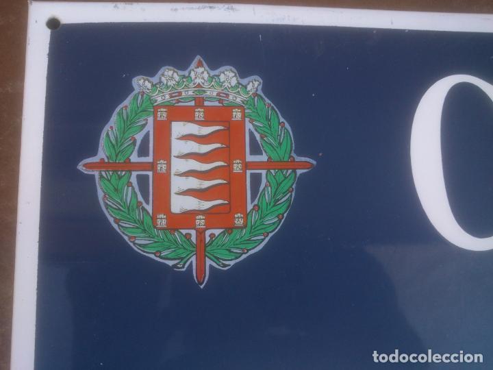 Militaria: Placa o chapa de Calle Alferez Provisional Valladolid - Foto 4 - 120152807